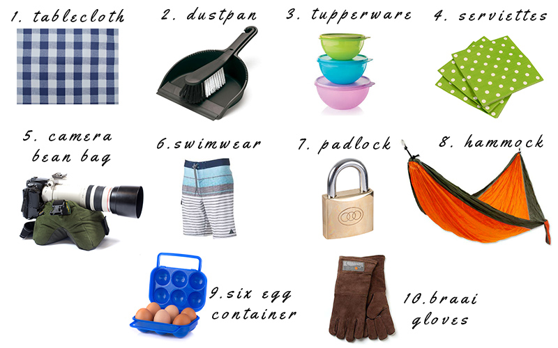 Camping Essential items